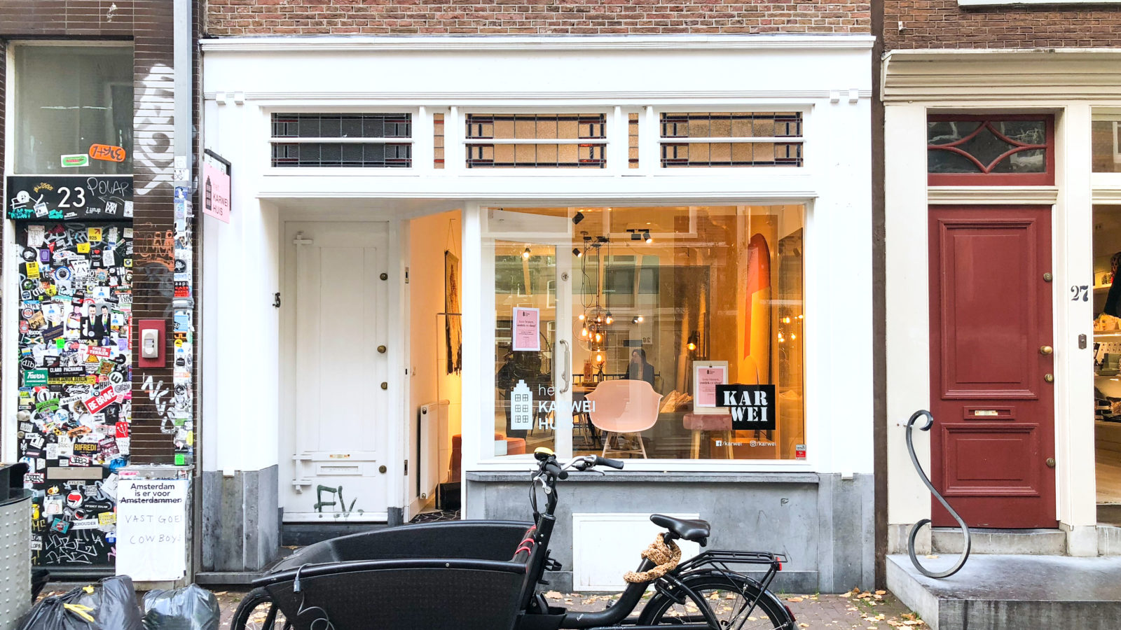KARWEI POP-UP STORE IN DE NEGEN STRAATJES